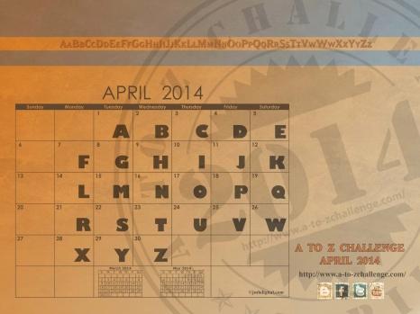 APRIL-CALENDAR [2014]