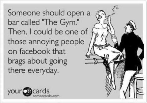 The Gym Bar