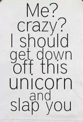 crazy unicorn